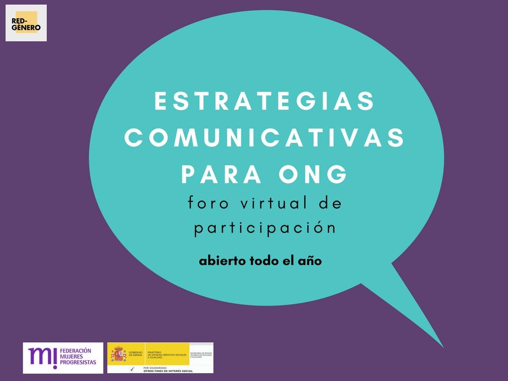 Course Image Foro virtual de participación en Comunicación