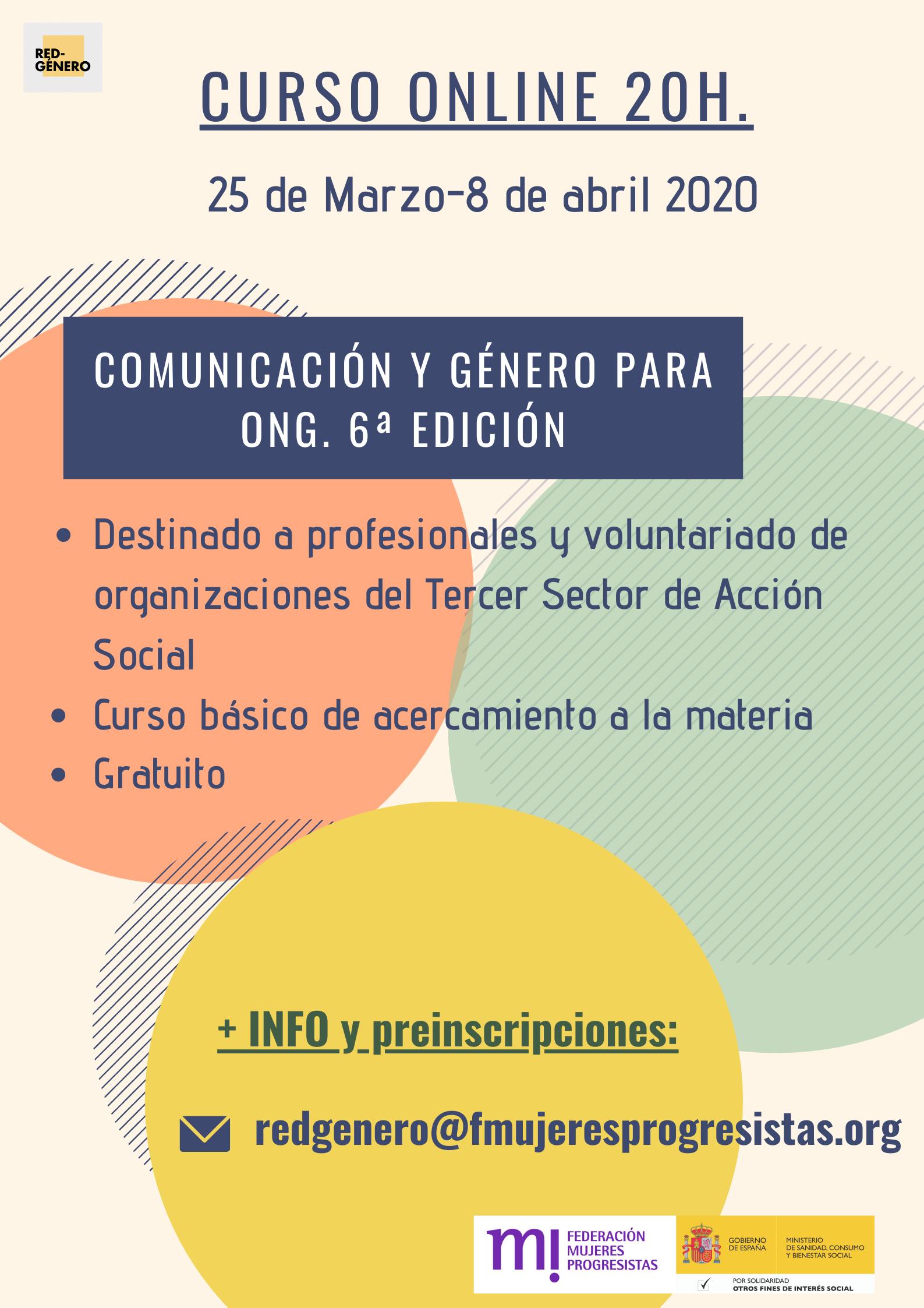 Course Image Curso de Comunicación y Género. 6ª edición