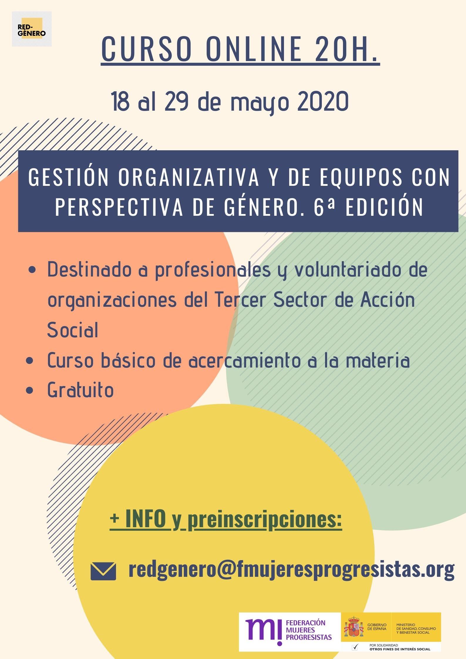 Course Image 6ª Edición. Gestión organizativa y de equipos con perspectiva de género