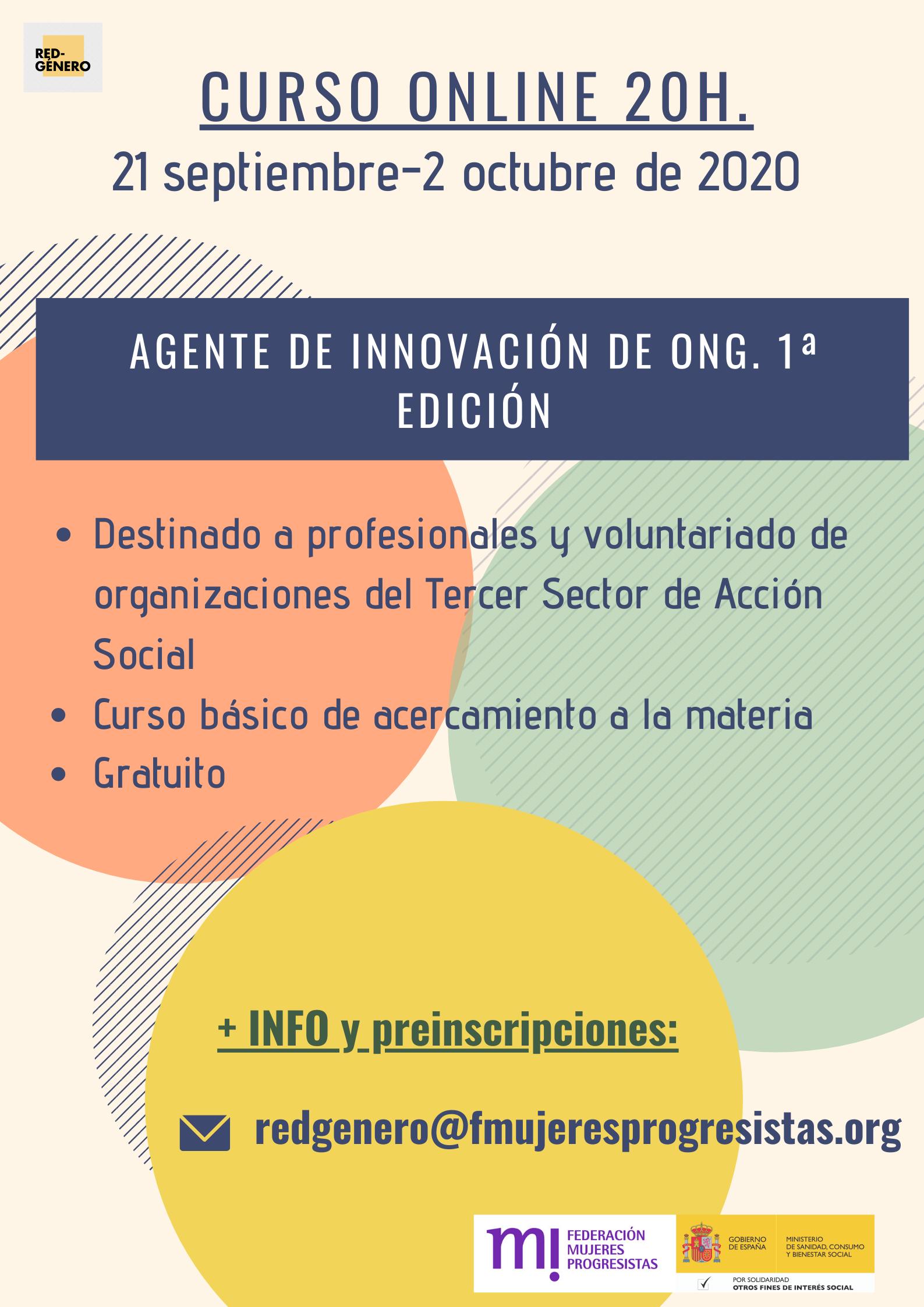 Course Image 1ª Edición. Agente de Innovación de ONG
