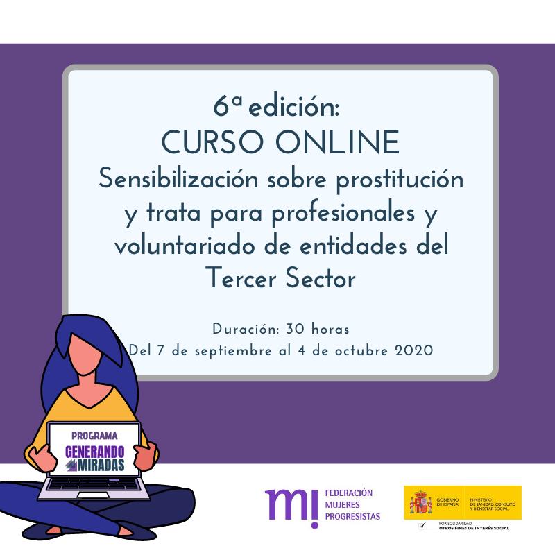 Course Image 6ª edición: Sensibilización sobre prostitución y trata para profesionales y voluntariado de entidades del Tercer Sector