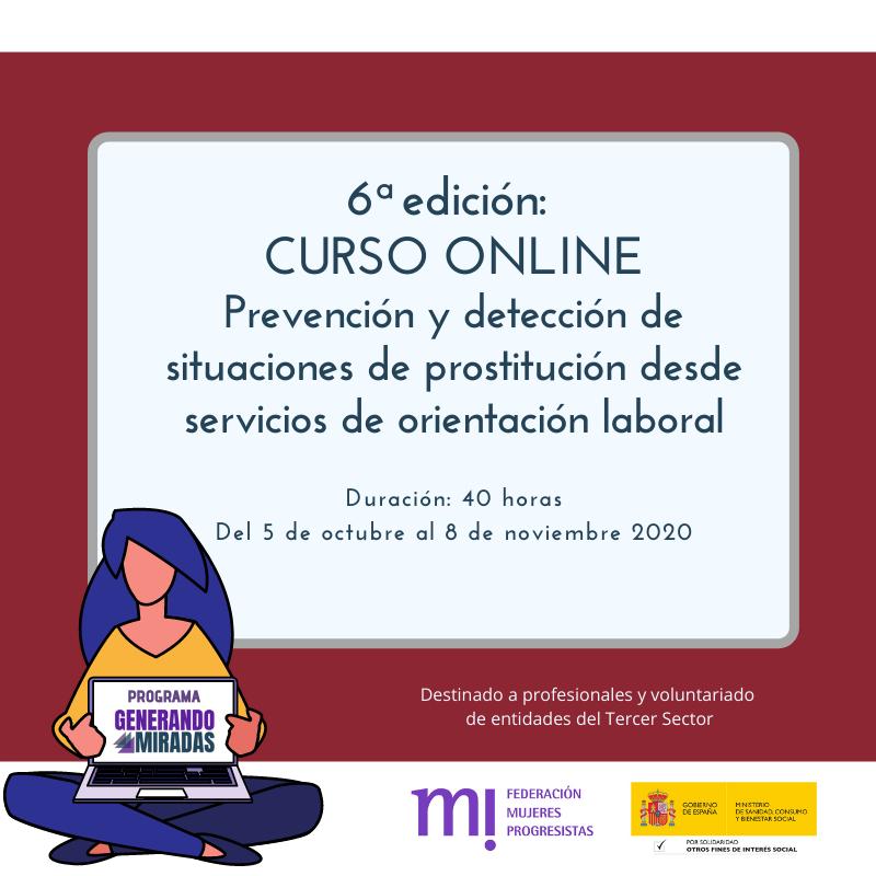 Course Image 6ª edición: Prevención y detección de situaciones de prostitución desde servicios de orientación laboral