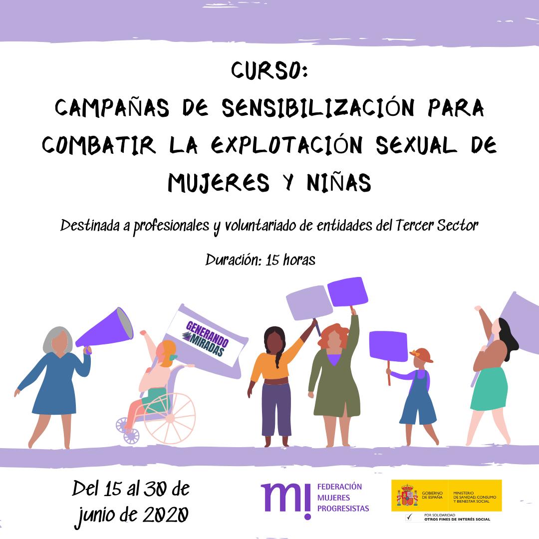Course Image 2ª edición: Campañas de sensibilización para combatir la explotación sexual de mujeres y niñas