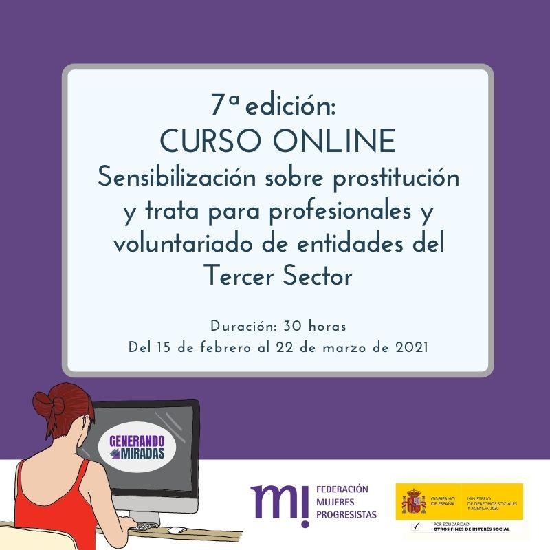 Course Image 7ª edición: Sensibilización sobre prostitución y trata para profesionales y voluntariado de entidades del Tercer Sector