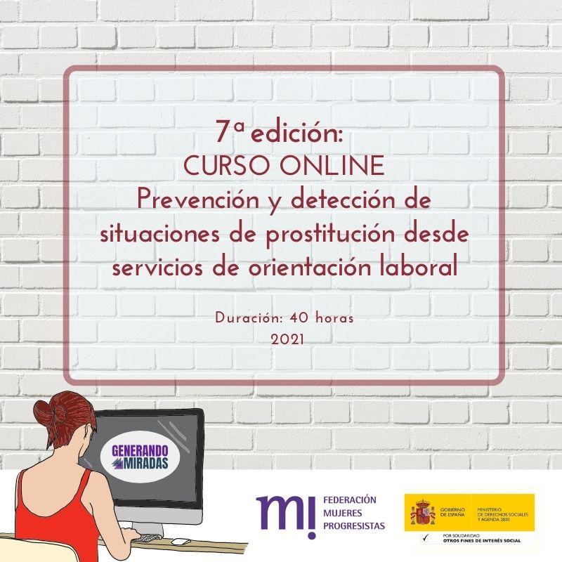 Course Image 7ª edición: Prevención y detección de situaciones de prostitución desde servicios de orientación laboral