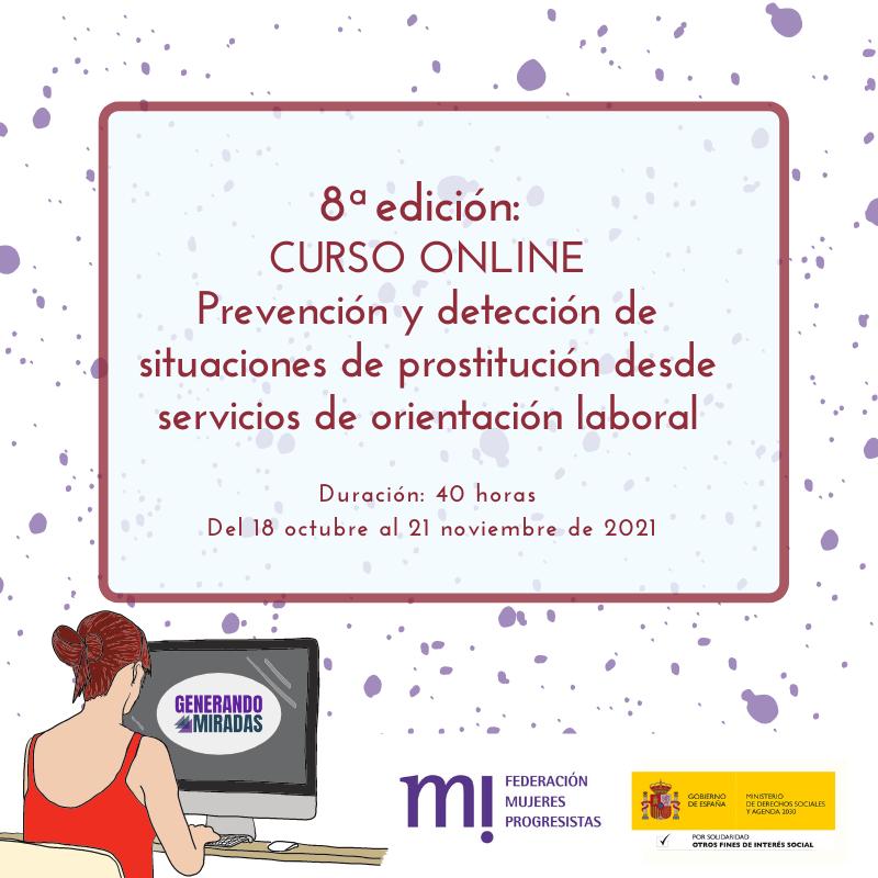Course Image 8ª edición: Prevención y detección de situaciones de prostitución desde servicios de orientación laboral