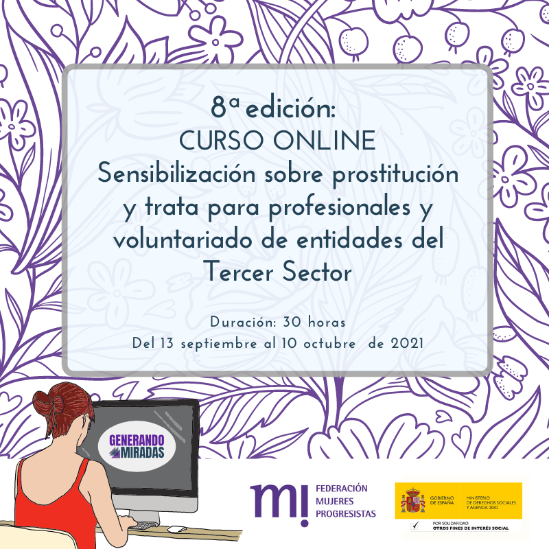 Course Image 8ª edición: Sensibilización sobre prostitución y trata para profesionales y voluntariado de entidades del Tercer Sector