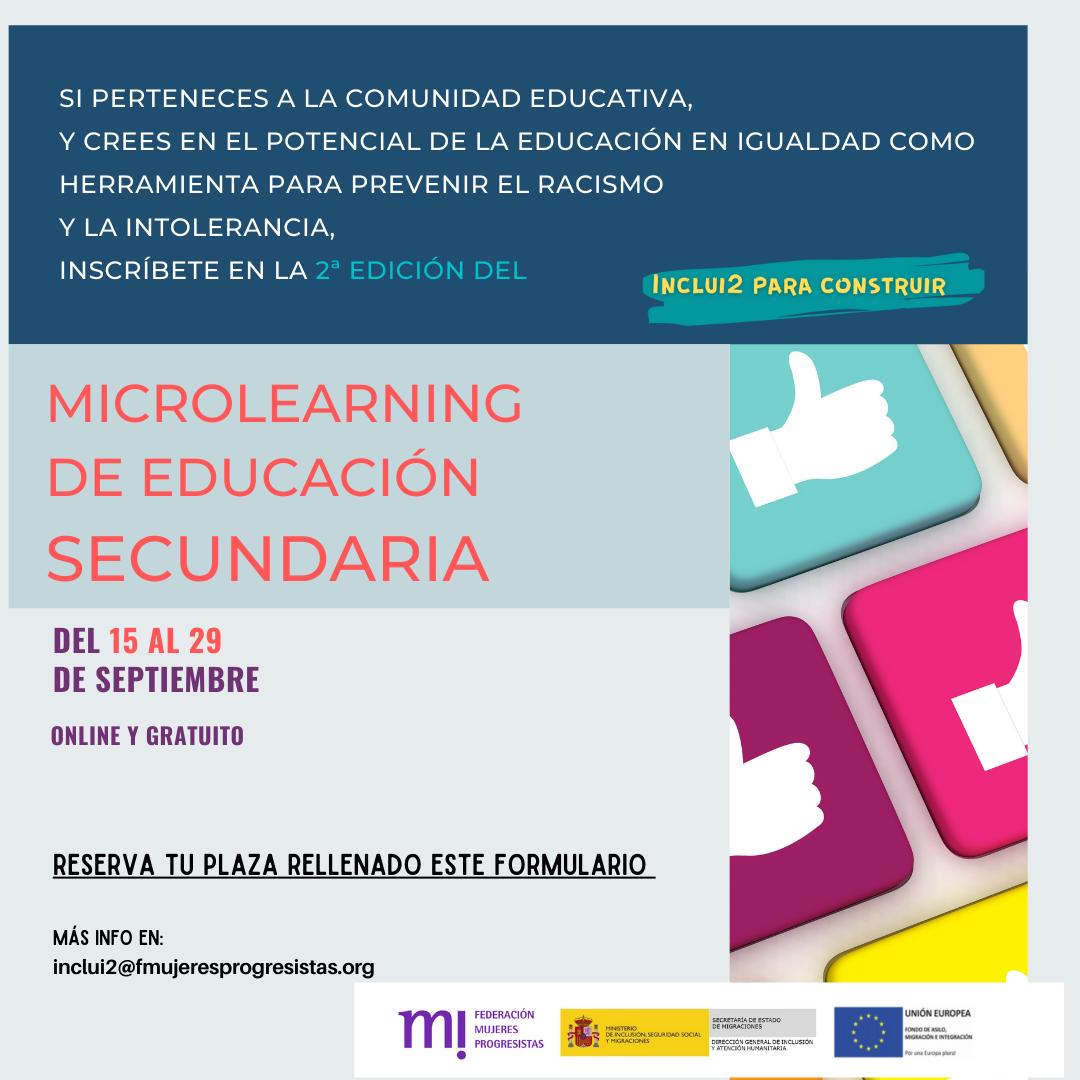 Course Image 2ª EDICIÓN_MICROLEARNING SECUNDARIA_Inclui2 para construir