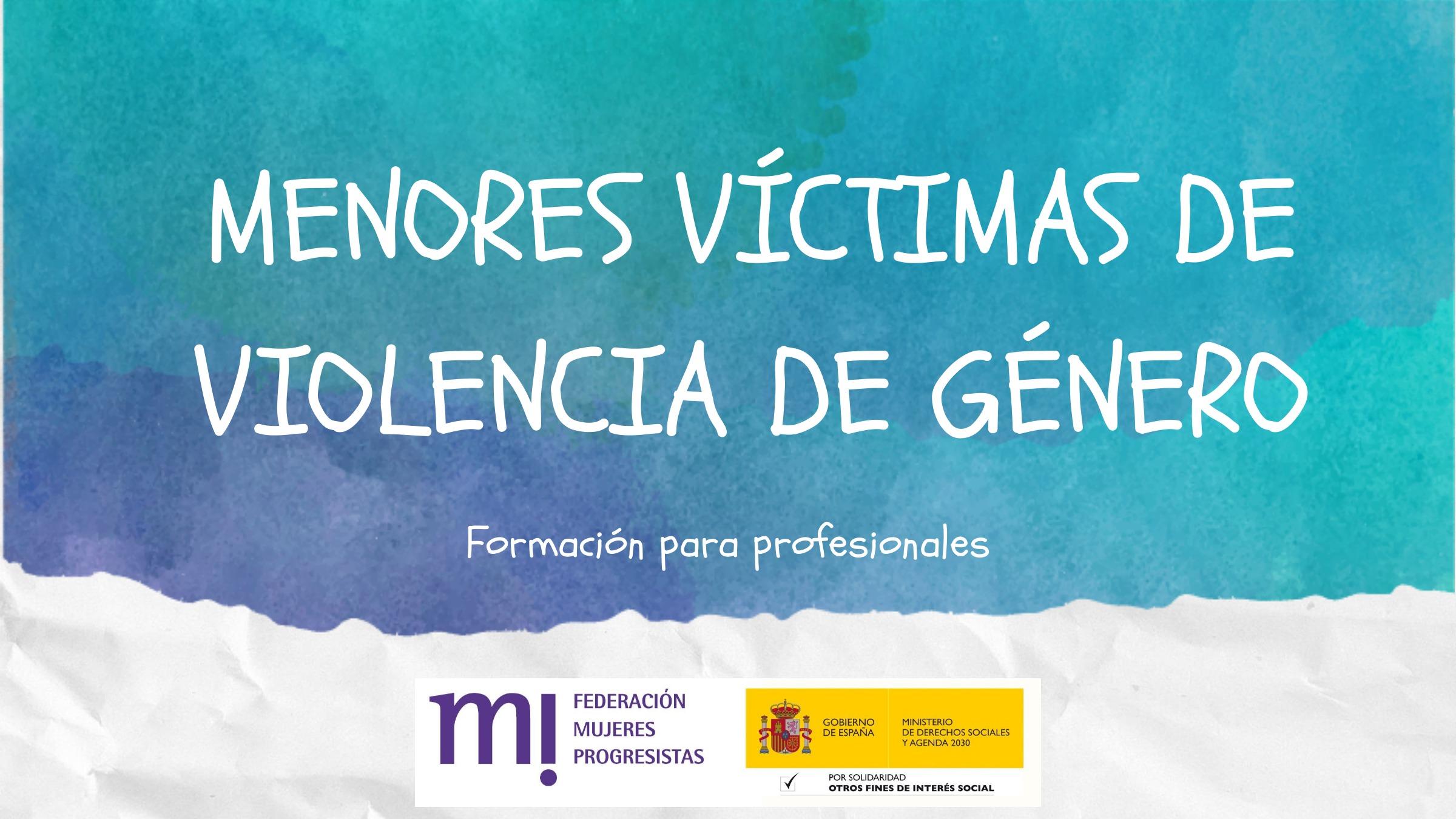 Course Image 5ª Edición: Menores víctimas de violencia de género