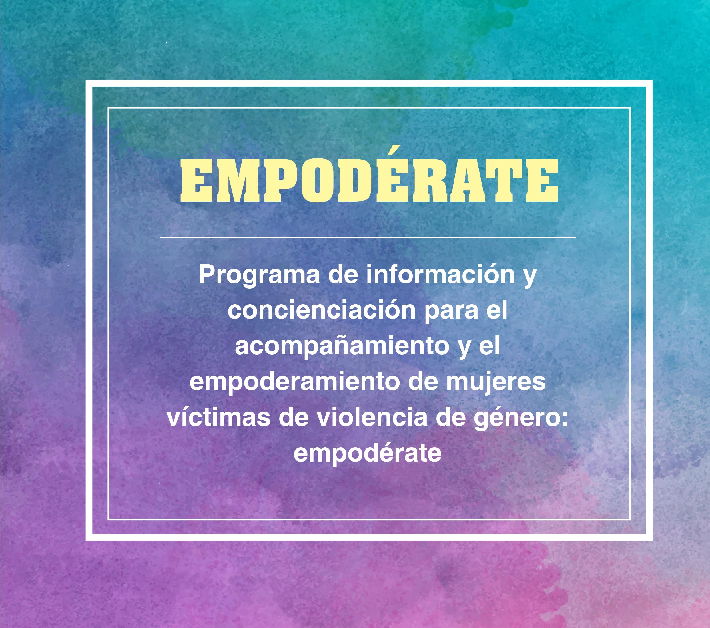 Course Image Formación específica de voluntariado. Proyecto Empodérate.