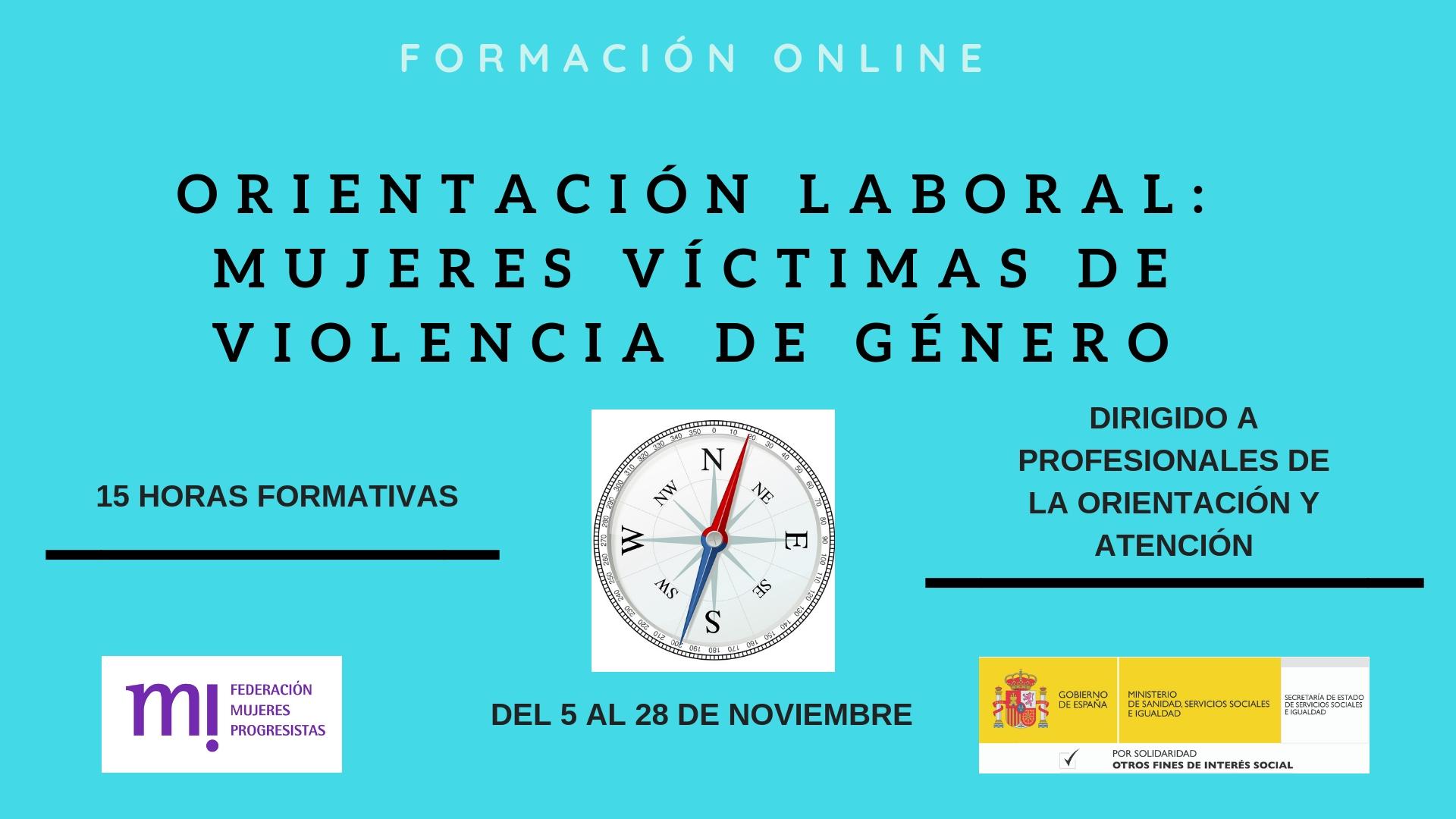 Course Image Orientación laboral a mujeres víctimas de violencia de género.