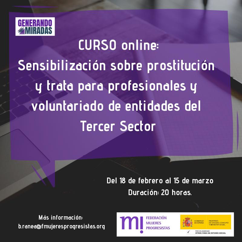 Course Image Sensibilización sobre prostitución y trata para profesionales y voluntariado de entidades del Tercer Sector