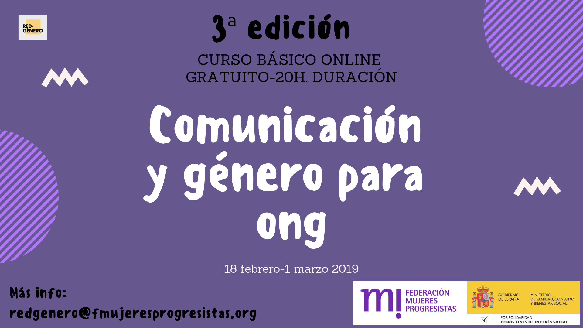 Course Image Curso de Comunicación y Género. 3ª edición