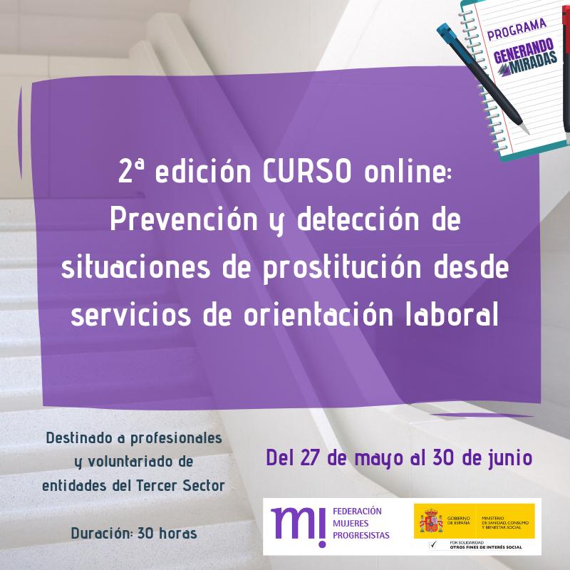 Course Image 2ª edición: Prevención y detección de situaciones de prostitución desde servicios de orientación laboral
