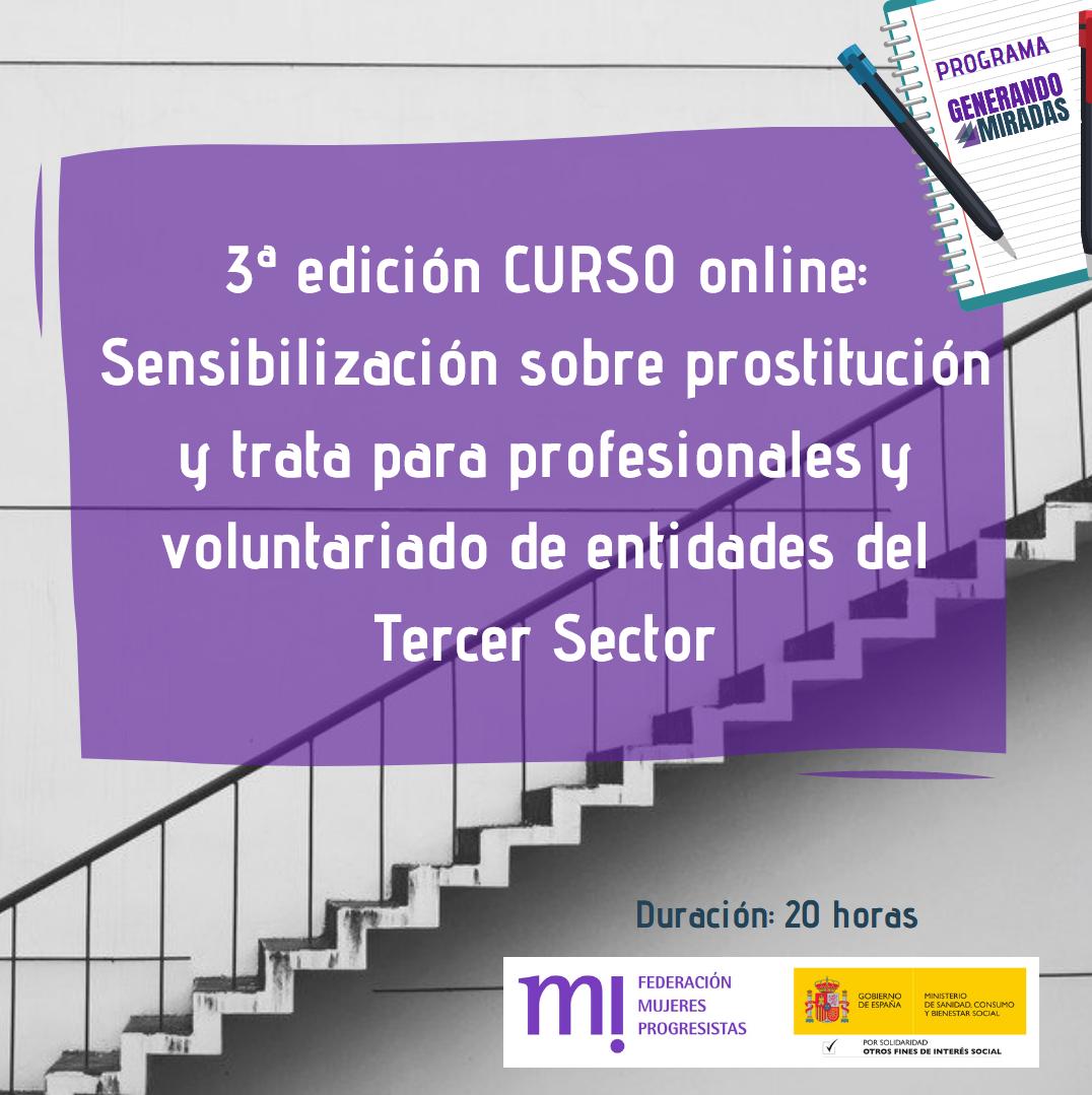 Course Image 3ª edición: Sensibilización sobre prostitución y trata para profesionales y voluntariado de entidades del Tercer Sector