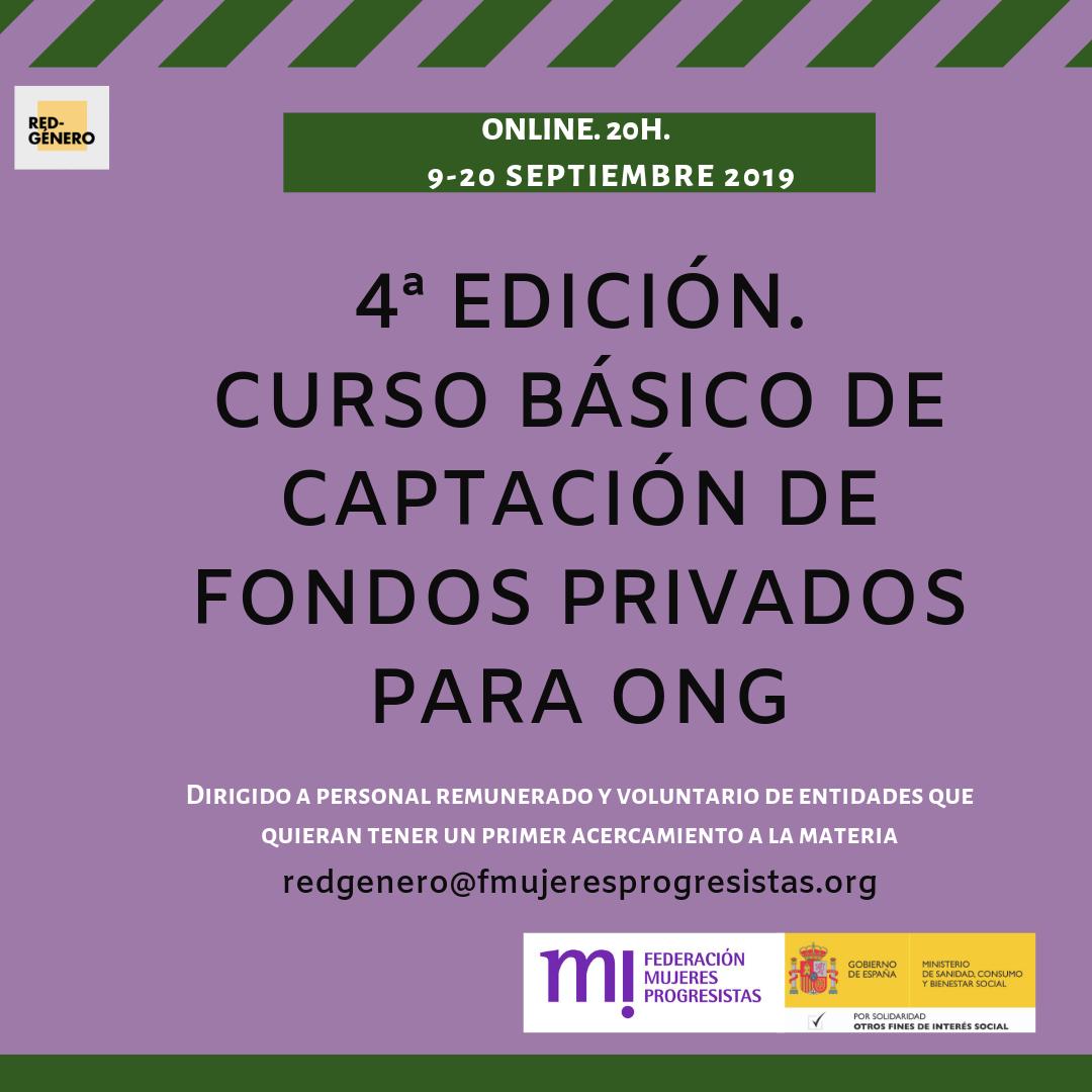 Course Image 4ª Edición. Curso de Captación de Fondos Privados para ONG