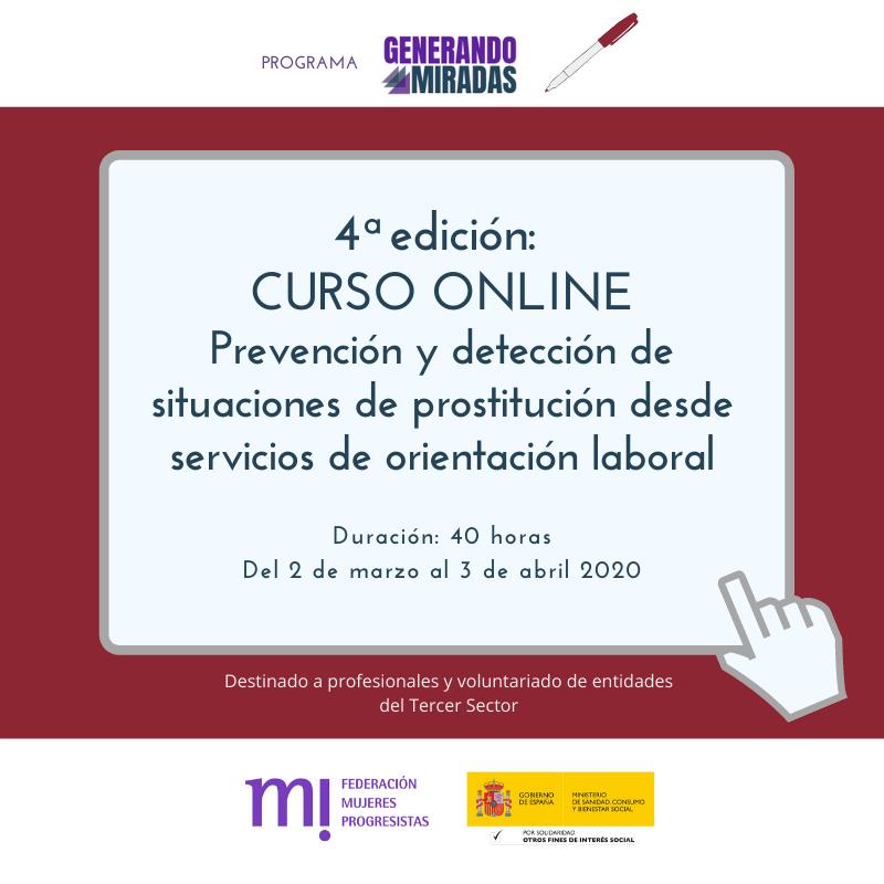 Course Image 4ª edición: Prevención y detección de situaciones de prostitución desde servicios de orientación laboral