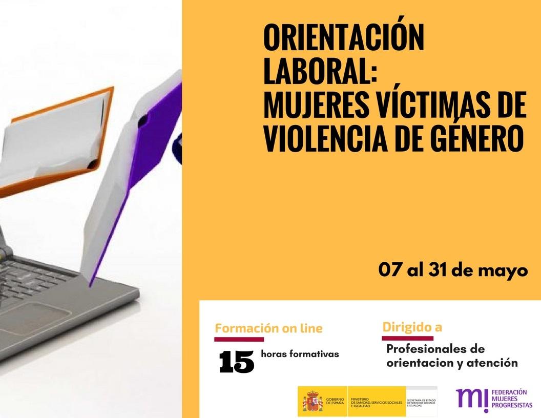 Course Image Orientación laboral a mujeres víctimas de violencia de género